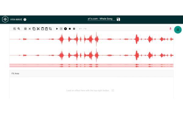 Editores de audio online gratis - Hya-Wave