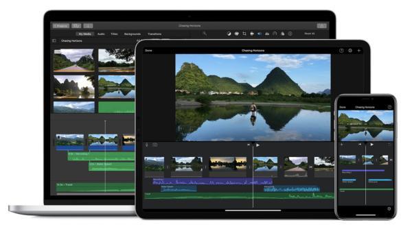Editores de vídeo para iPhone - iMovie