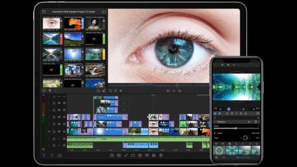 Editores de vídeo para iPhone - Luma Fusion