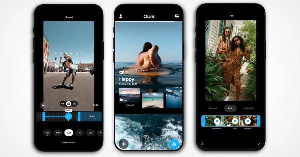 Editores de vídeo para iPhone - Quik o Quik: Video Editor