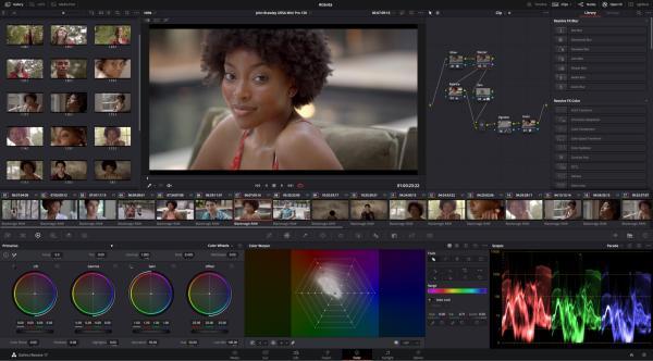 Mejores editores de video gratis para Windows - Edita como todo un profesional con Davinci Resolve