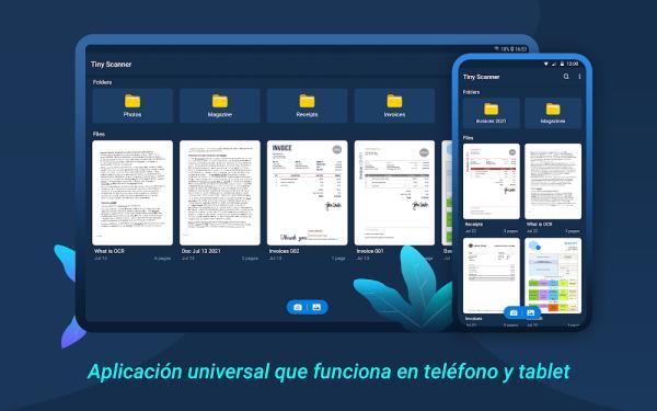 Cómo escanear un documento con el celular - Tiny Scanner