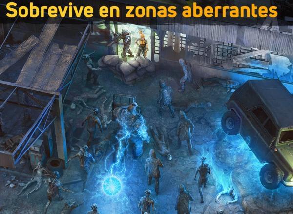 Juegos de supervivencia para Android e iOS - Dawn of Zombies