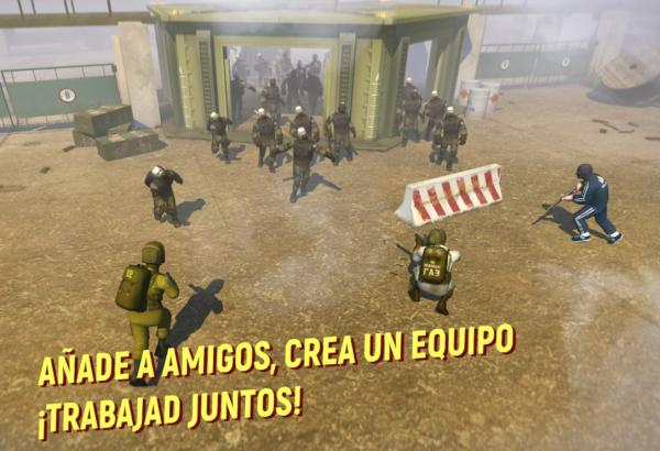 Juegos de supervivencia para Android e iOS - Tacticool