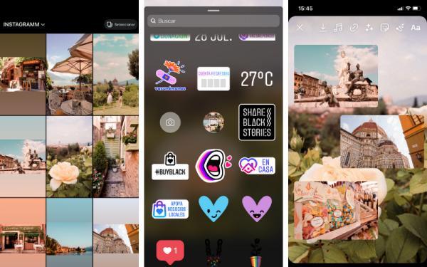Cómo poner varias fotos en una misma historia de Instagram - Cómo hacer un collage de fotos para historias de Instagram