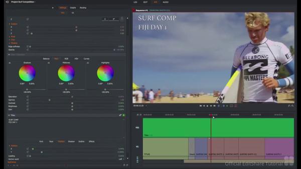 Programas para editar videos gratis sin marcas de agua - Lightworks