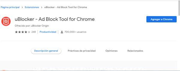 Cómo quitar la publicidad de Chrome - Extensiones para bloquear anuncios de Chrome