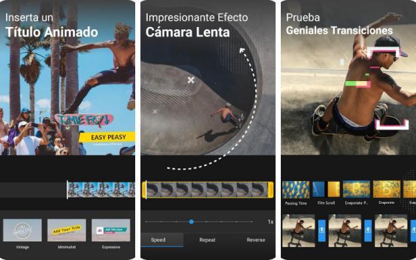 Editores de vídeo para Android - ActionDirector de Cyberlink