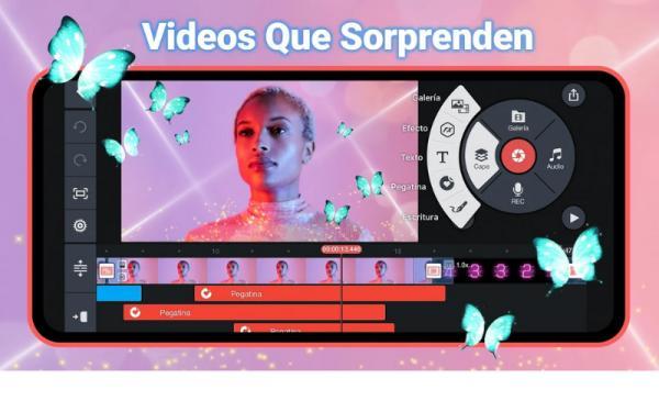 Aplicaciones para editar videos gratis - KineMaster Pro
