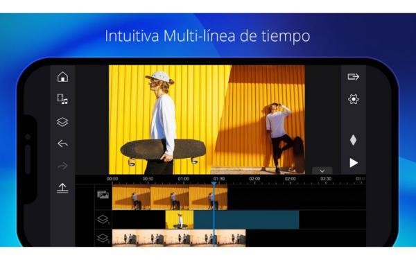 Aplicaciones para editar videos gratis - Power Director