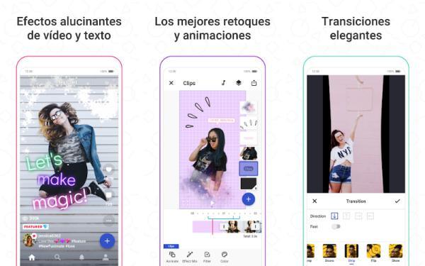 Aplicaciones para editar videos de TikTok - Funimate