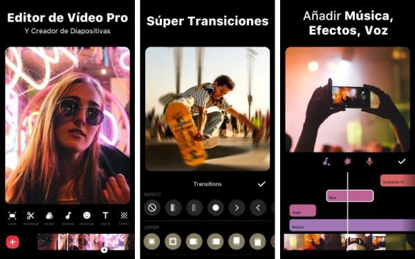 Aplicaciones para editar videos de TikTok - Inshot