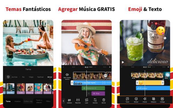 Aplicaciones para editar videos de TikTok - VivaVideo