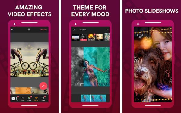 Aplicaciones para editar videos de TikTok - Vizmato