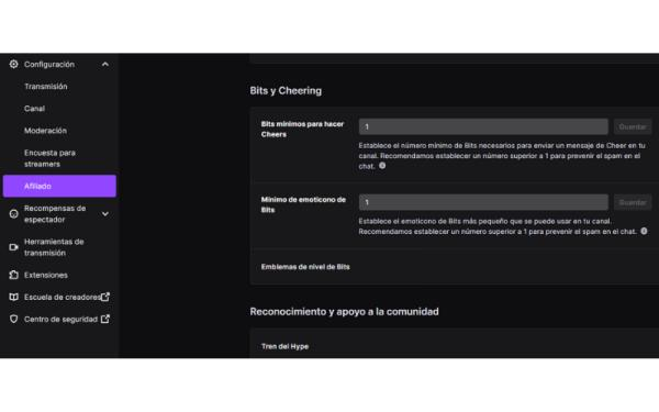 Cómo activar las donaciones en Twitch - Cómo activar las donaciones en Twitch - Bits