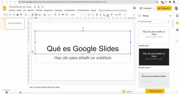 Los mejores programas para hacer presentaciones - Google Slides