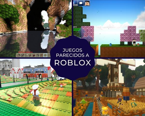 Juegos parecidos a Roblox