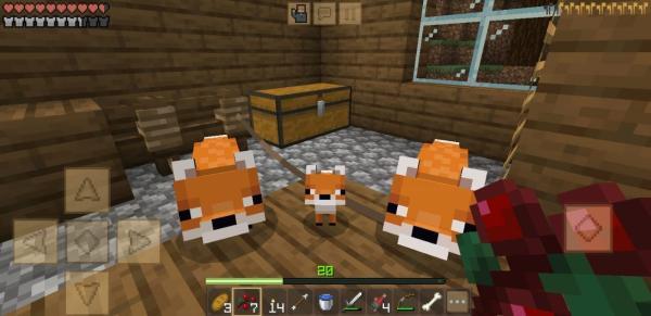 Cómo domesticar a un zorro en Minecraft